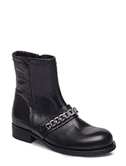 BOOTS - BLACK FLOATER/SILVER 403