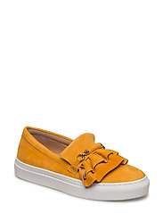 SHOES - SAFFRAN SUEDE/GOLD 562
