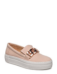 SHOES - NUDE NUBUCK/ROSE GOLD 488