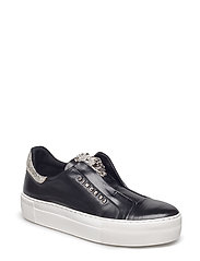 SHOES - BLACK NAPPA/SILVER 703