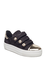 SHOES - GOLD METAL/BLACK NUBUCK 240