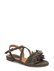 SANDALS - KAHKI 399 SUEDE 55