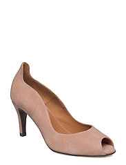 PUMPS - OLD ROSE SUEDE 58