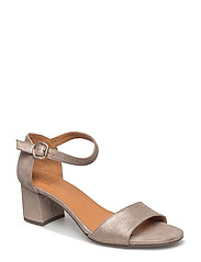 PUMPS - PLATINUM BURMA UMBER METAL 2