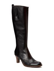 BOOTS - Black calf/beige 802 EX