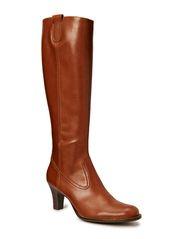 BOOTS - Cognac calf/beige 642
