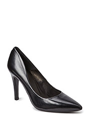 PUMPS - Black calf 80 L