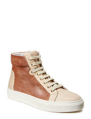 SHOES - CREME NAPPA/TOAST SUEDE 752 L