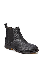 BOOTS CREPE SOLE - Black mustang snake 30 R