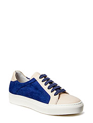 SHOES - Cream nappa/navy suede 751
