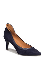 PUMPS - NAVY SUEDE/BUFFALO 581