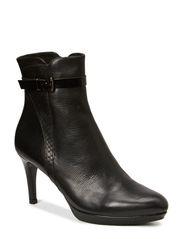 BOOTS - Black calf/sandy pyton/polido