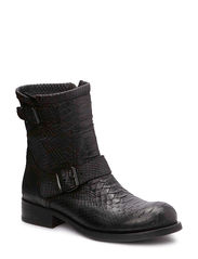 Short Boot - BLACK PYTHON 20