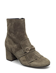 BOOTS - OLIVE SUEDE 55