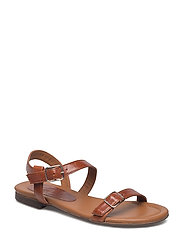 SANDALS - BROWN NAPPA 76