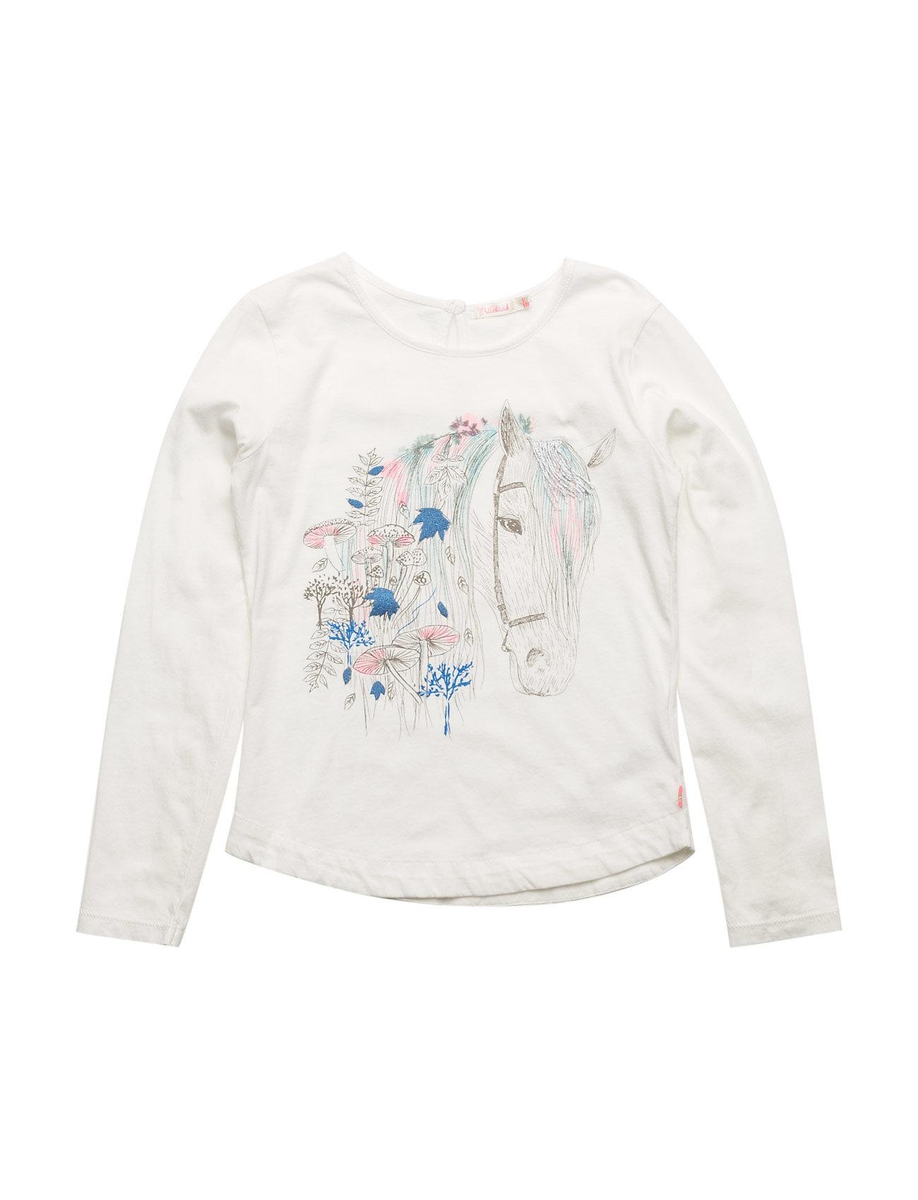 T-Shirt Billieblush Langærmede t-shirts til Børn i hvid