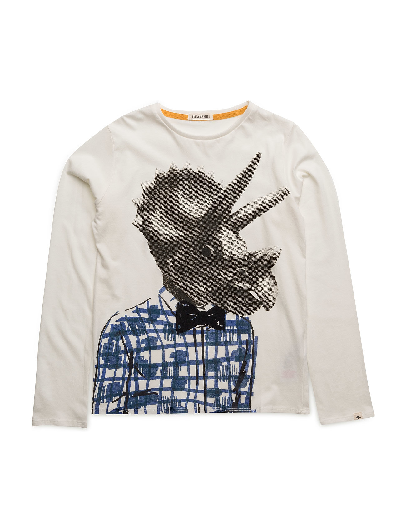 T-Shirt Billybandit Langærmede t-shirts til Børn i hvid