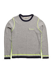PULLOVER - LIGHT CHINE GREY