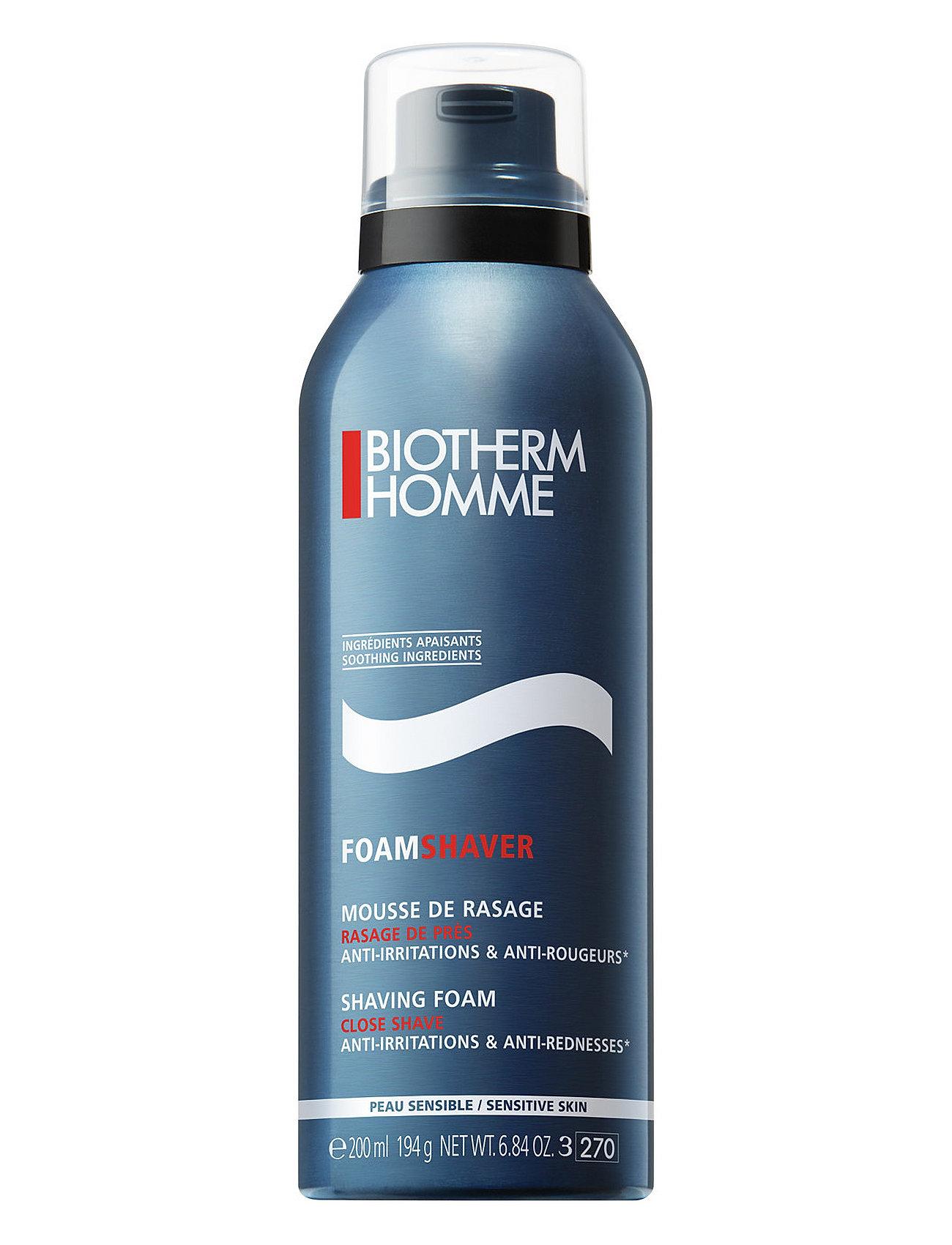 biotherm – Shavingfoam for sensitive skin 200 ml fra boozt.com dk