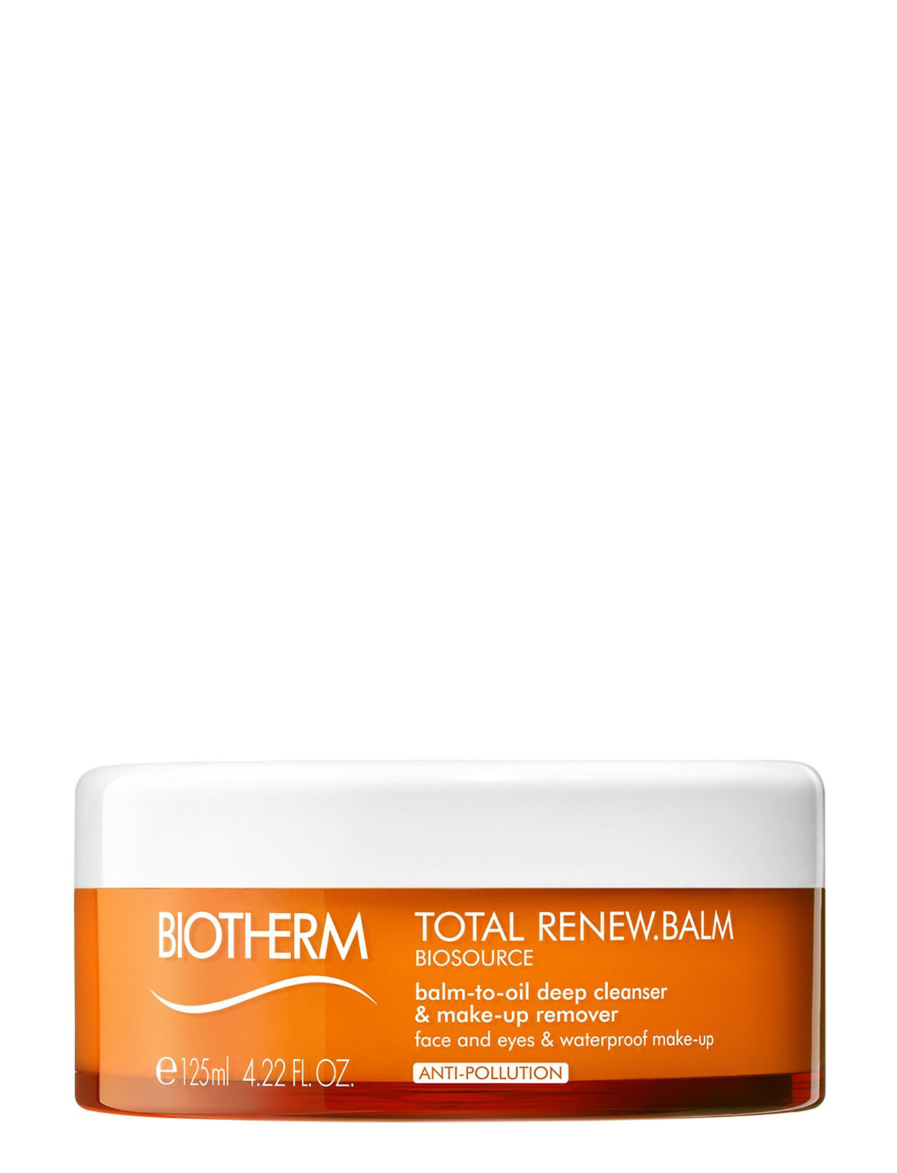 Biosource total renew balm-to-oil deep cleanser & makeup rem fra biotherm på boozt.com dk