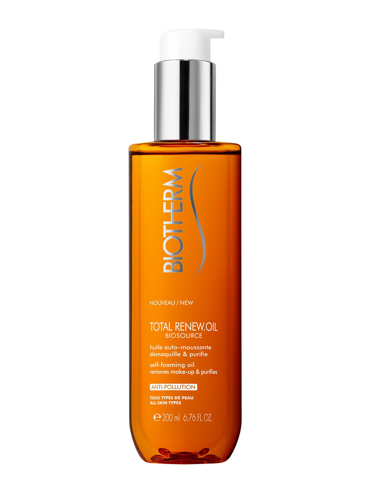 biotherm Biosource total renew oil 200 ml fra boozt.com dk