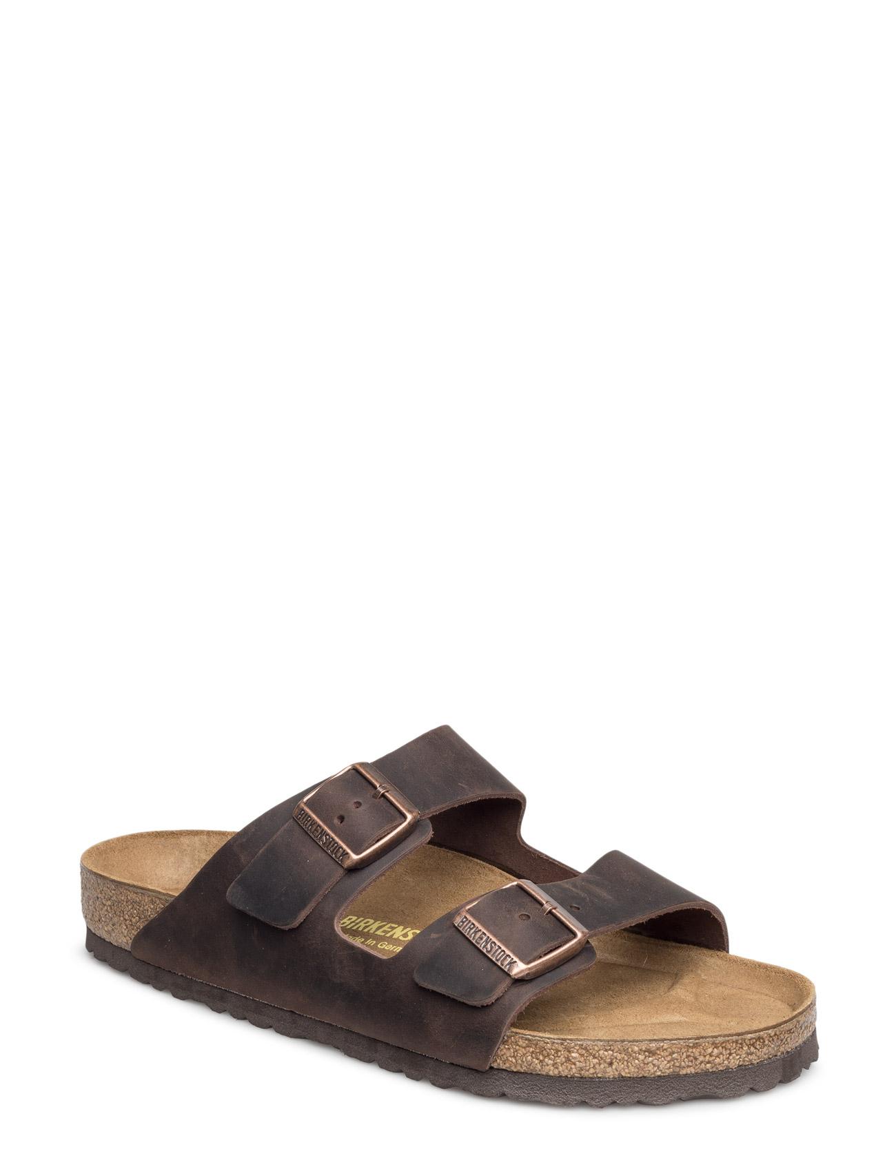 Arizona Leoi S Black Birkenstock Sandaler til Damer i