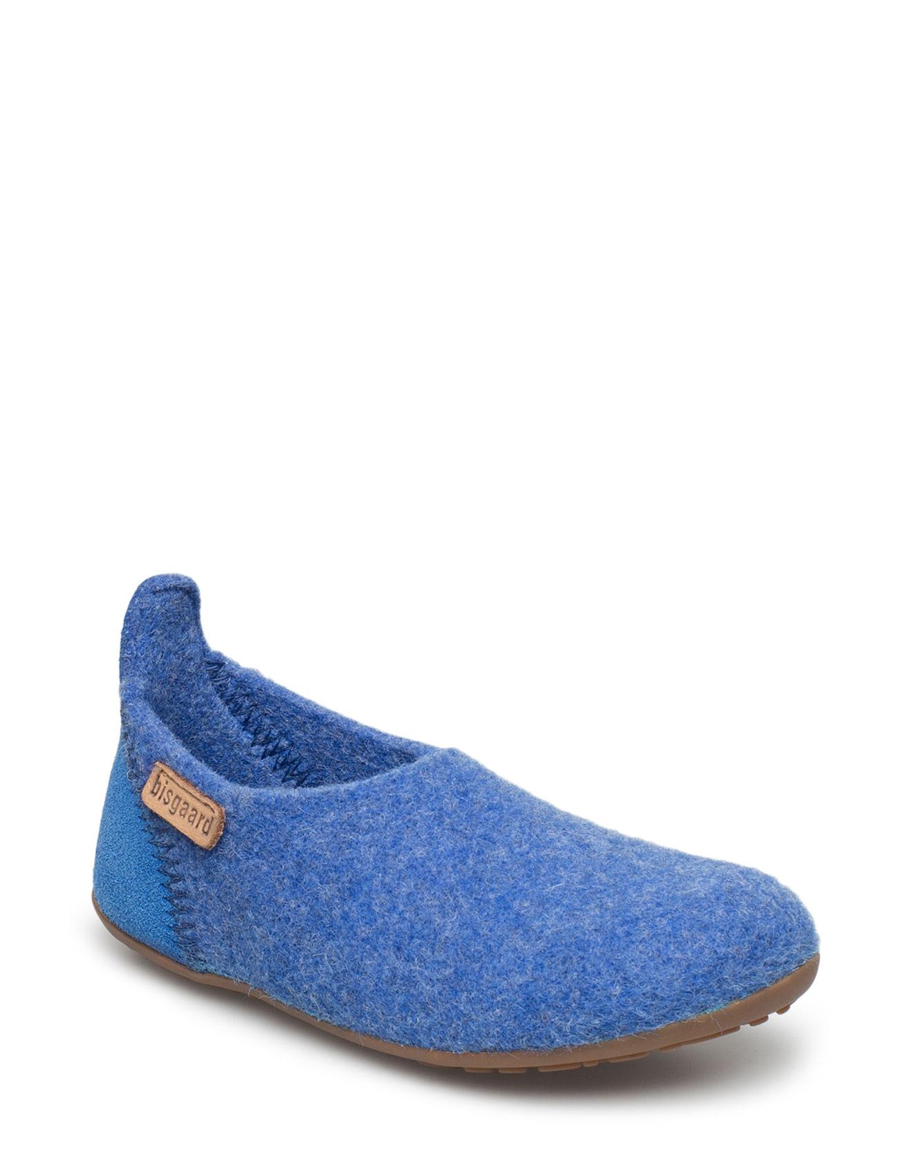 Home Shoe -  Wool Basic Bisgaard Hjemmesko til Børn i