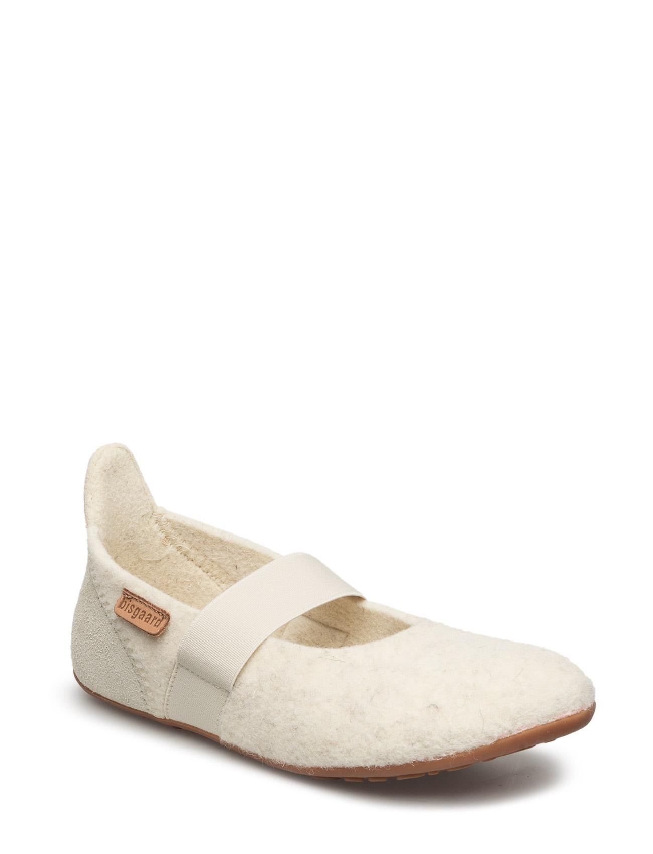 Home Shoe -  Wool Ballet Bisgaard Ballarinaer til Børn i