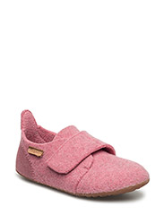 "HOME SHOE - ""WOOL VELCRO"" - 91 ROSA"