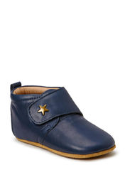 SLIPPERS - velcro star - 21 Navy