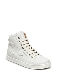 Shoe with laces - 3000-1 WHITE