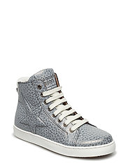 Shoe with laces - 405 GREY