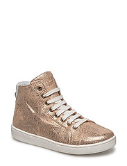 Shoe with laces - GOLD