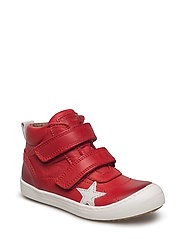 Velcro shoes - RED