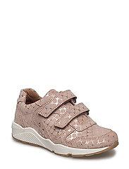 Velcro shoes - ROSE DOTS