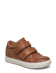 Velcro shoes - COGNAC