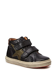 Shoe with velcro - Nero