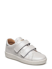 Velcro shoes - WHITE