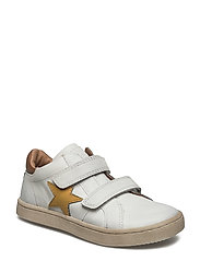 Shoe with velcro - 3000-1 WHITE
