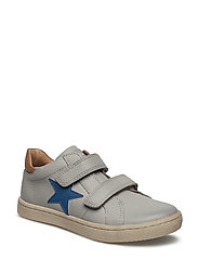 Shoe with velcro - 400-1 LIGHT GREY