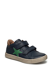 Shoe with velcro - 600 BLUE