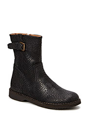 Classic short boot - Crocoblack