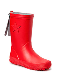"RUBBER BOOT ""STAR"" - 10 RED"