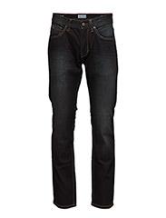 5 pocket jeans - dark indigo - DARK INDIGO