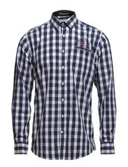 Checked shirt l/s - NAVY