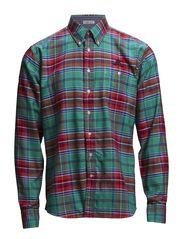 Checked shirt L/S - GREEN