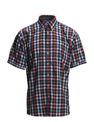 Checked shirt S/S - GREEN