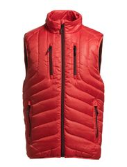 Quilted waistcoat - RED