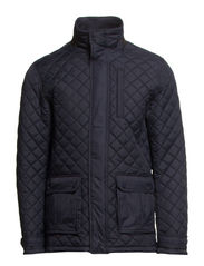 Quilted jacket - DK NAVY