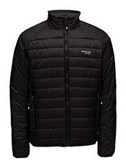 Quiltedsportsjacket - BLACK